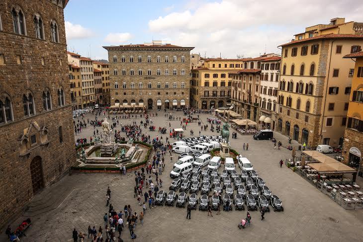 Firenze modello di Mobilità Sostenibile grazie a 70 veicoli elettrici Renault