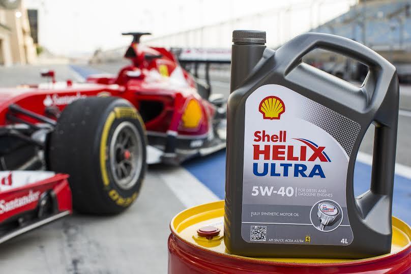 La Scuderia Ferrari gareggia con il primo olio motore sviluppato dal gas naturale