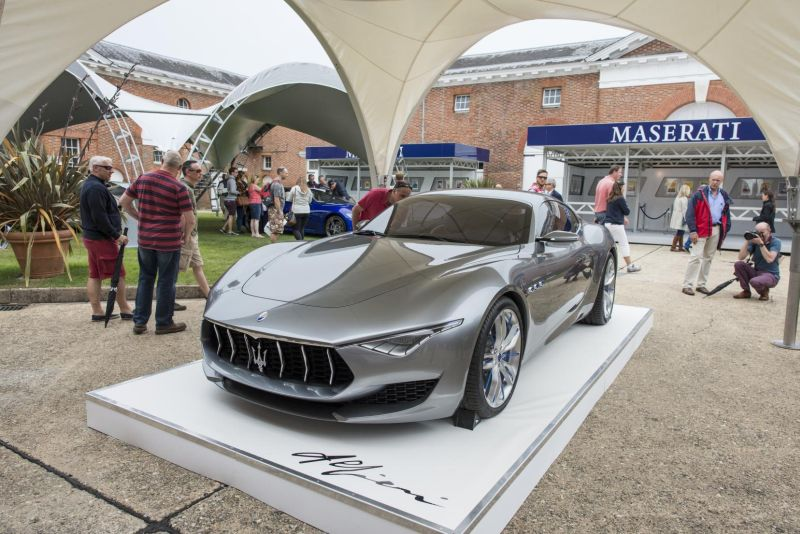 Maserati Alfieri Concept Car of the Year 2015 2