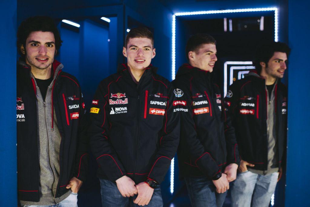 Scuderia Toro Rosso 2015: Carlos Sainz and Max Verstappen