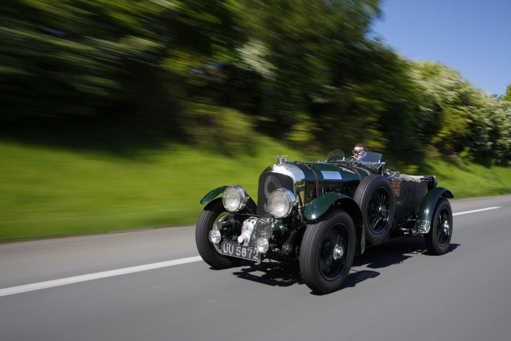 British Speed in Italy: Bentley marks anniversary with Mille Miglia run