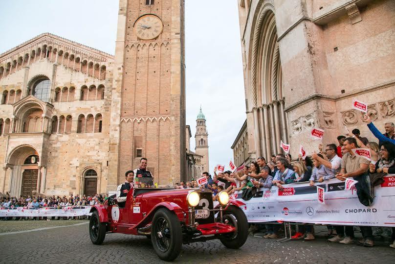 Mille Miglia a Parma 1