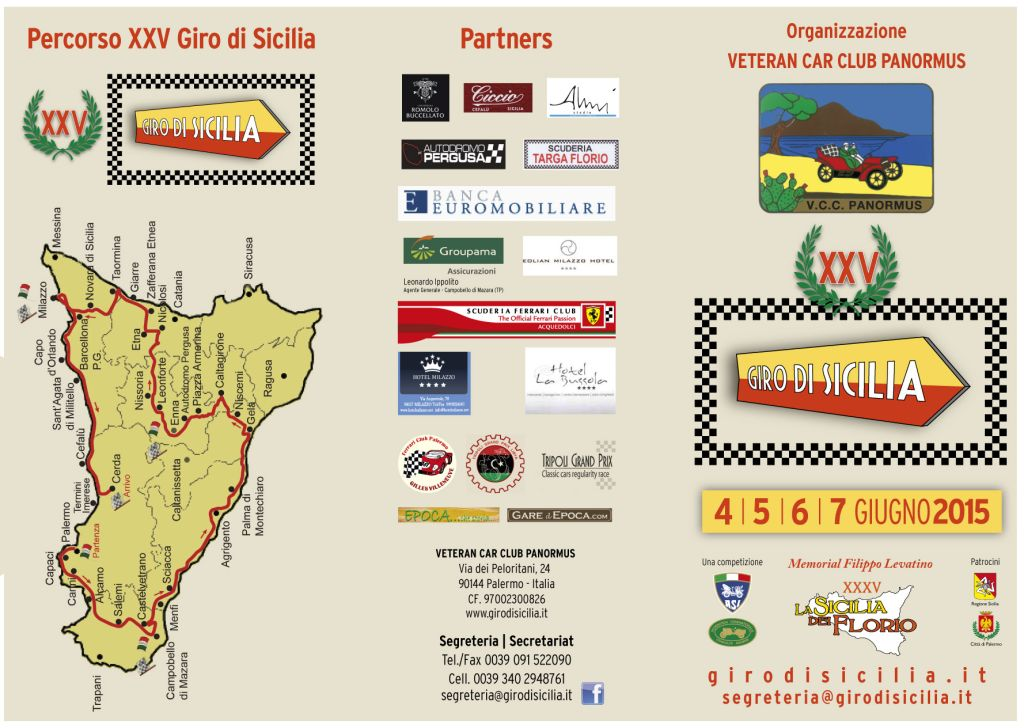 Il Cortina Car Club prosegue il suo tour da Bergamo alla Sicilia
