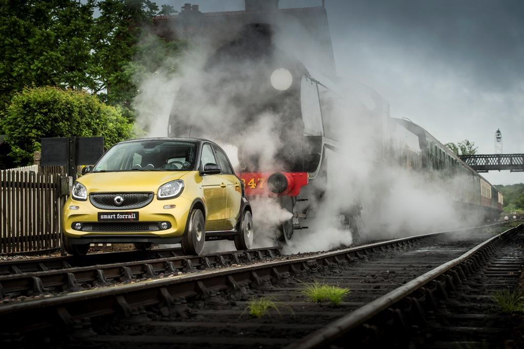 smart forrail: mobilità integrata a zero emissioni firmata smart [Gallery]