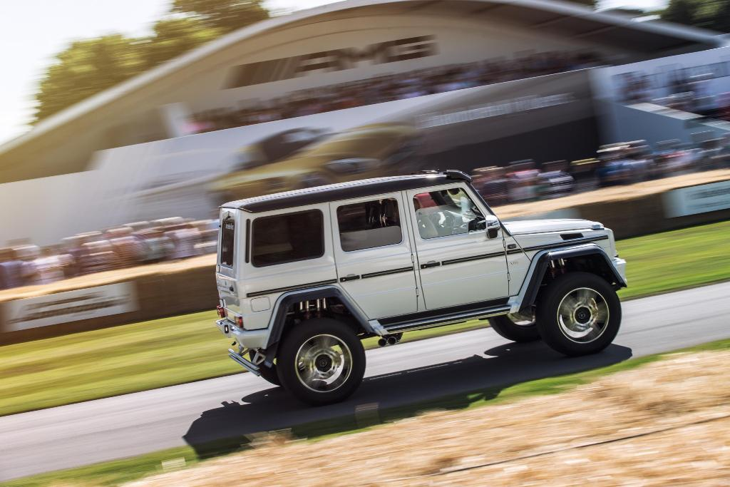 Mercedes-Benz al Goodwood Festival of Speed 2015 [Gallery]