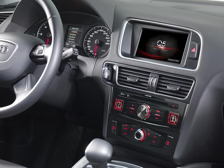 Alpine presenta la prima soluzione audio e di infointrattenimento Premium per Audi A4,A5 e Q5