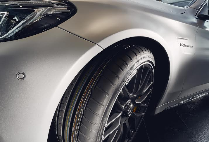 Dunlop Sport Maxx RT per la nuova Mercedes-AMG C63