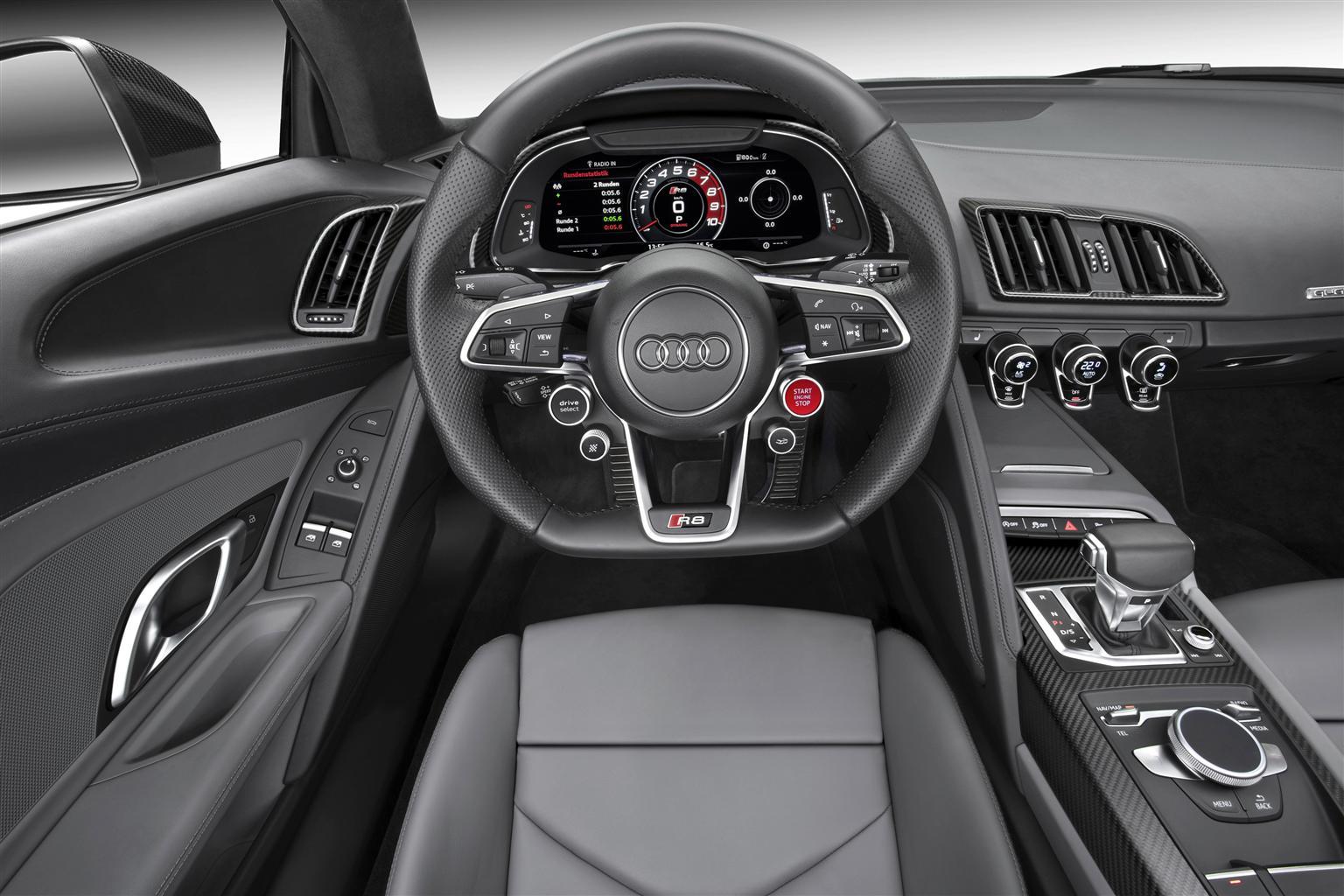 Nuova Audi R8 Coupé competitor, prezzo e prestazioni 4