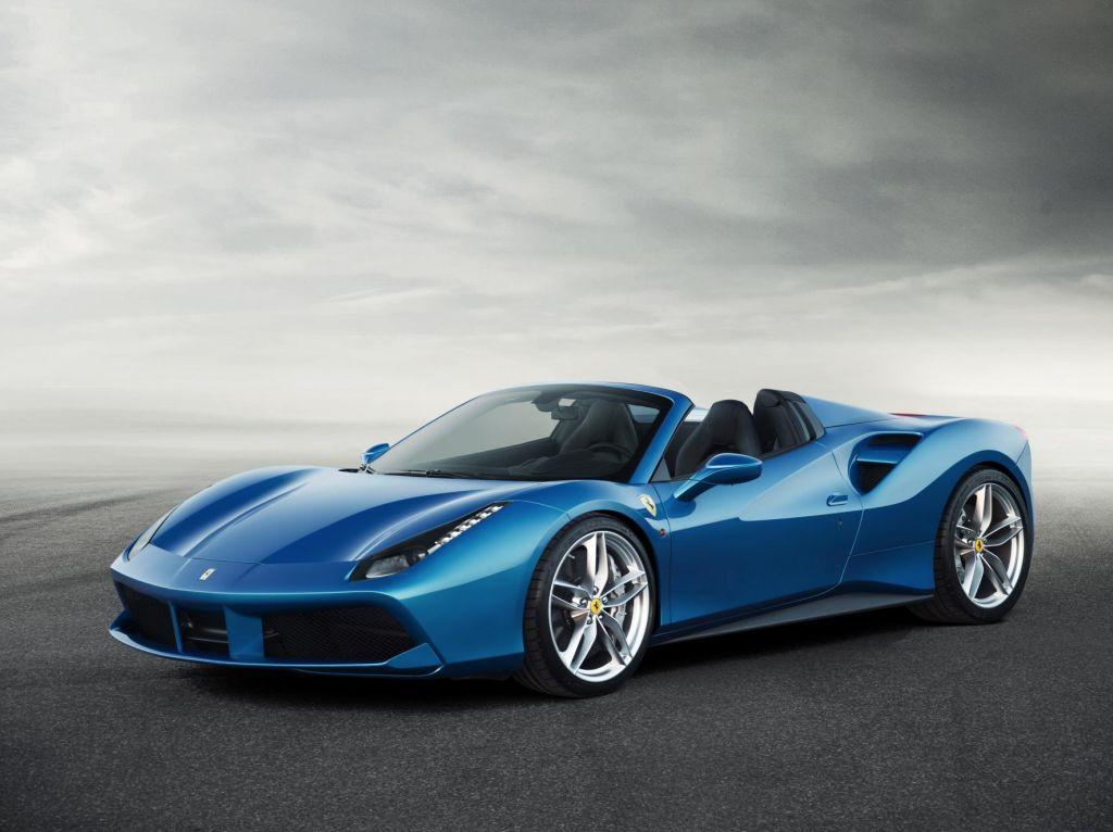 Nuova Ferrari 488 Spider prestazioni straordinarie a cielo aperto 1