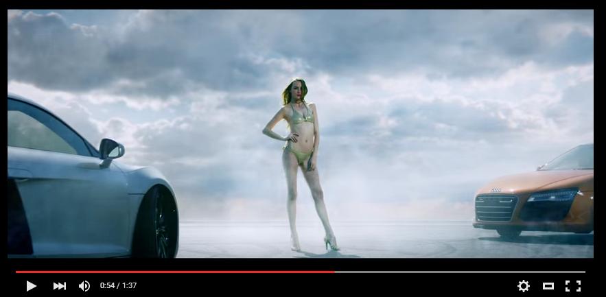 TOYO TIRES il video del Doppio Drift Dinamico su Audi R8