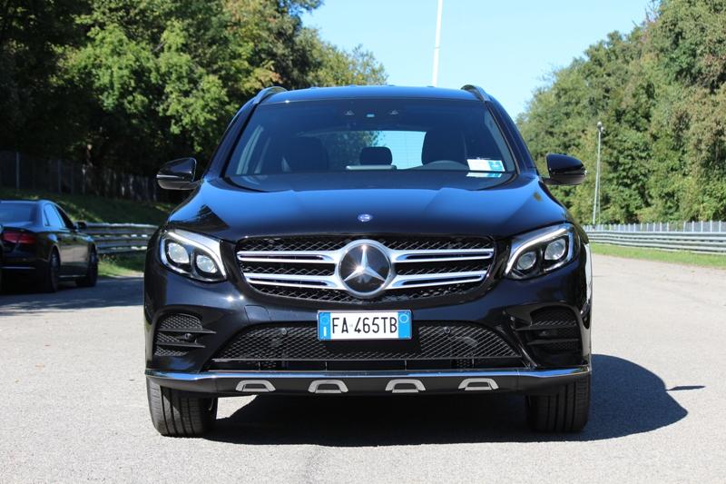 Mercedes-Benz GLC: la prova in off-road nel Parco di Monza