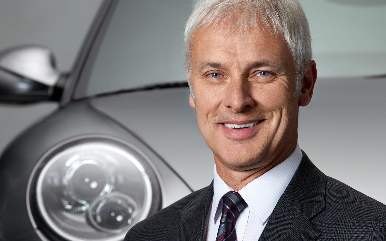 Matthias Müller nominato CEO del Gruppo Volkswagen