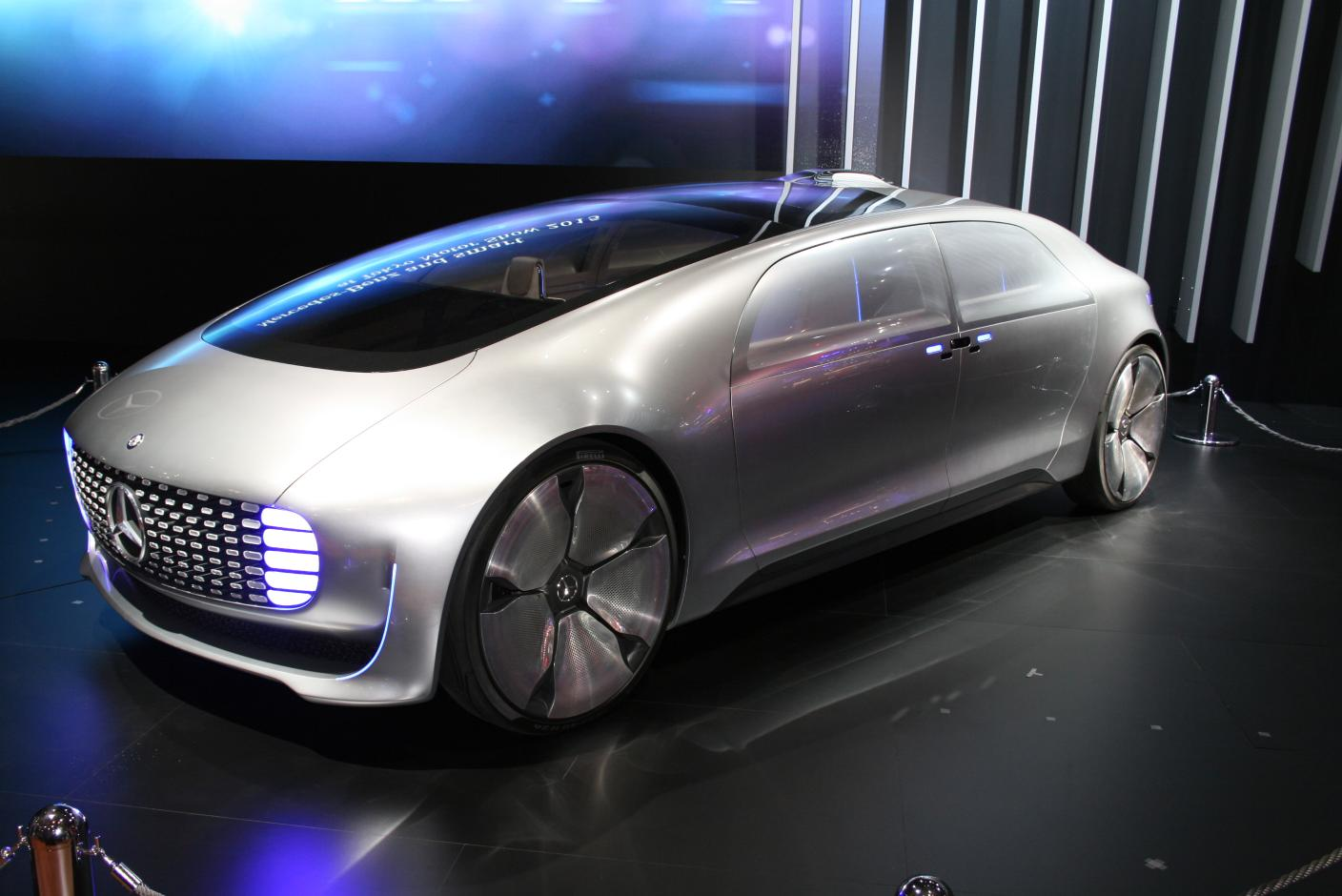 Mercedes Vision Tokyo: Connected Lounge