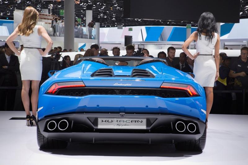 Lamborghini Huracán LP 610-4 Spyder: motore V10 aspirato da 5,2 l e da 449 kW/610 CV