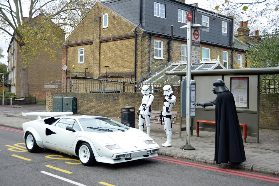 A 1984 Lamborghini Countach 5000 S and one of the rarest Star Wars posters ever produced will hit the red carpet at the auction