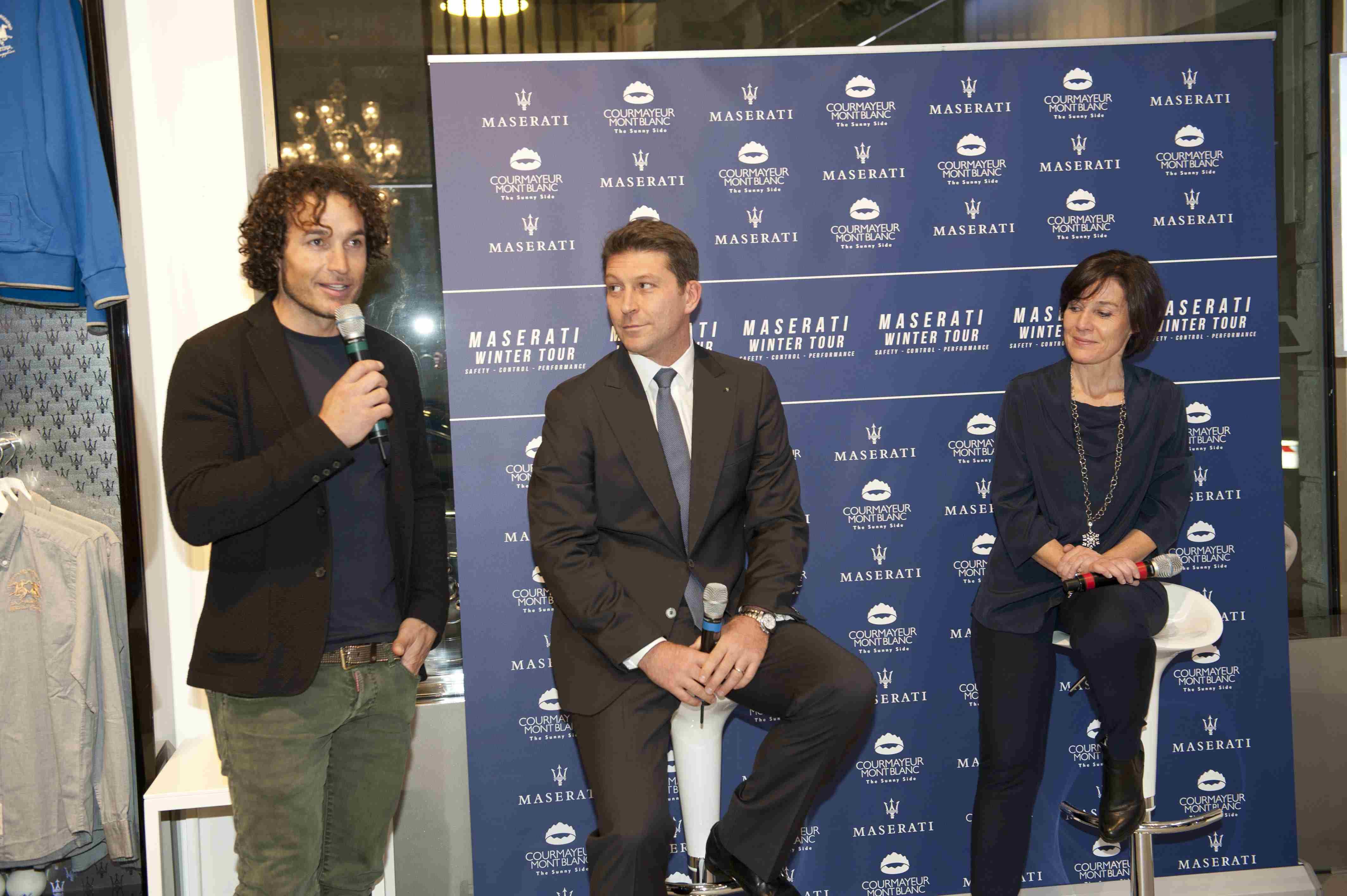 Courmayeur incontra Maserati: due eccellenze del Made in Italy per la prima volta insieme