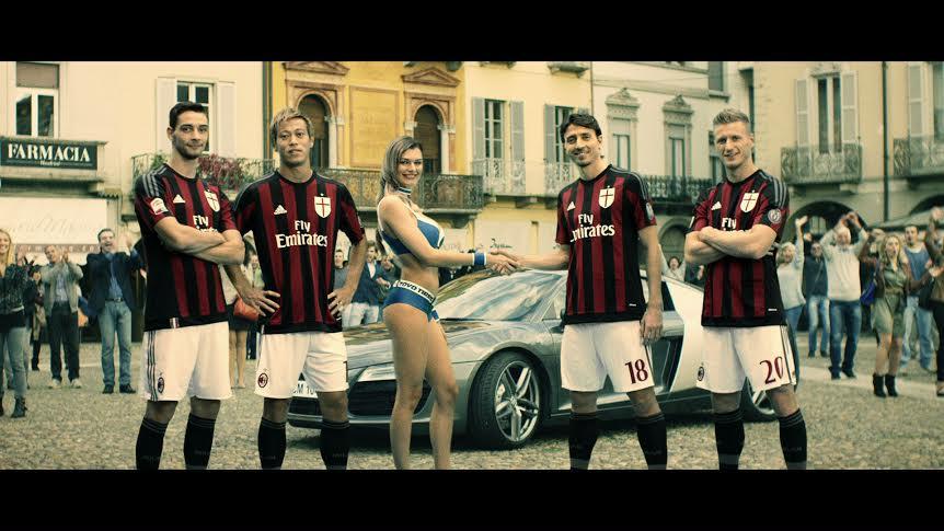Ac Milan e Toyo Tires- sfida per le strade di Milano con Audi, on-line il nuovo video