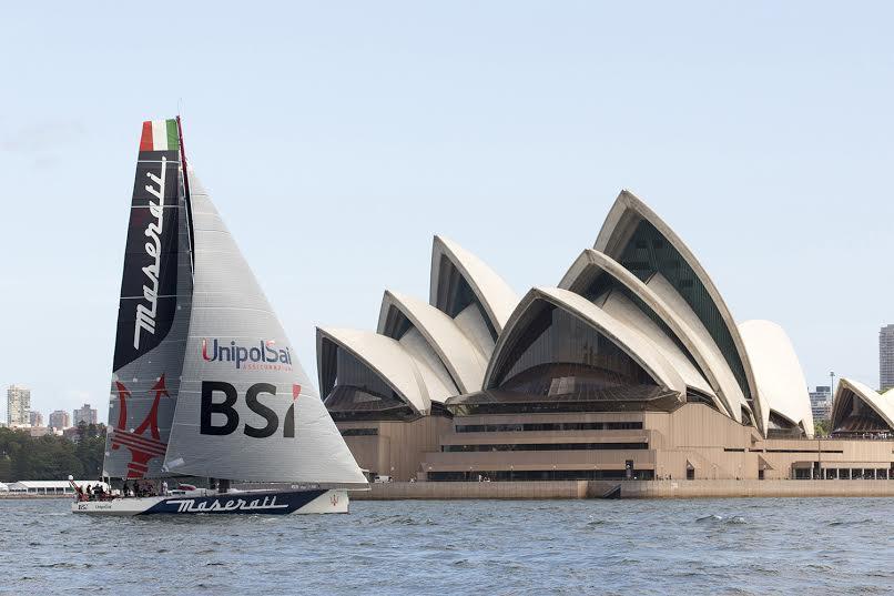 Maserati e Giovanni Soldini pronti per la Rolex Sydney-Hobart Yacht Race