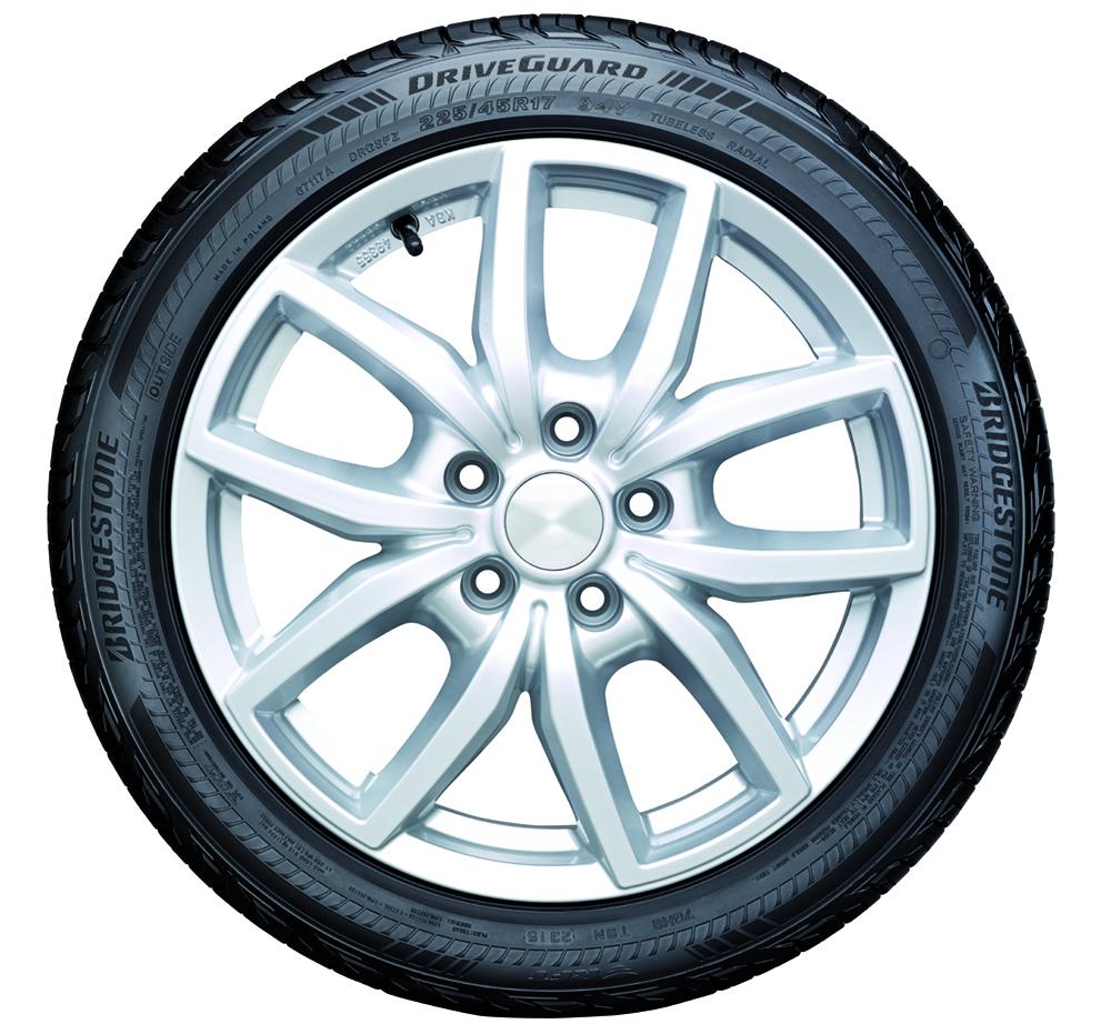 Bridgestone Driveguard: rivoluzione nel mondo dei 'Run Flat'