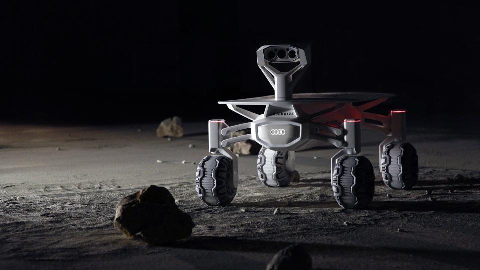 Moon, land of quattro? Audi Lunar Quattro per Google Lunar XPRIZE