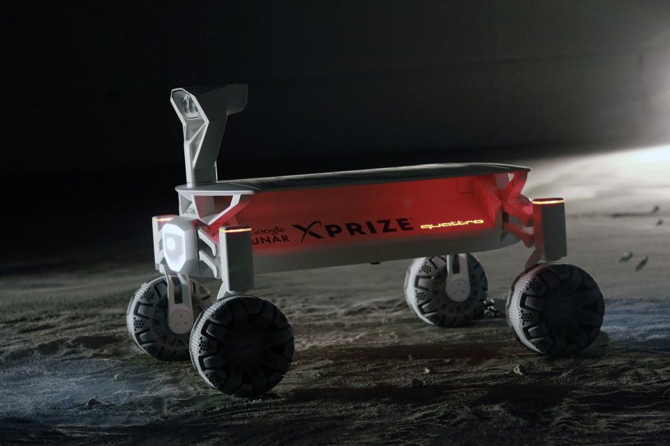Moon, land of quattro Audi Lunar Quattro Vying per Google Lunar XPRIZE 2