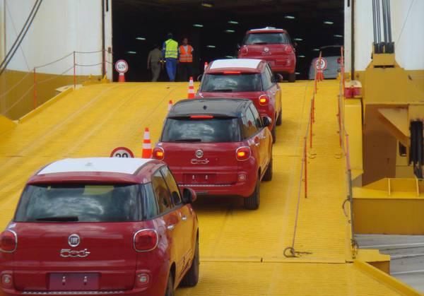 Il Gruppo Grimaldi ottiene il riconoscimento di fornitore logistico dell'anno da Fiat Chrysler Automobiles