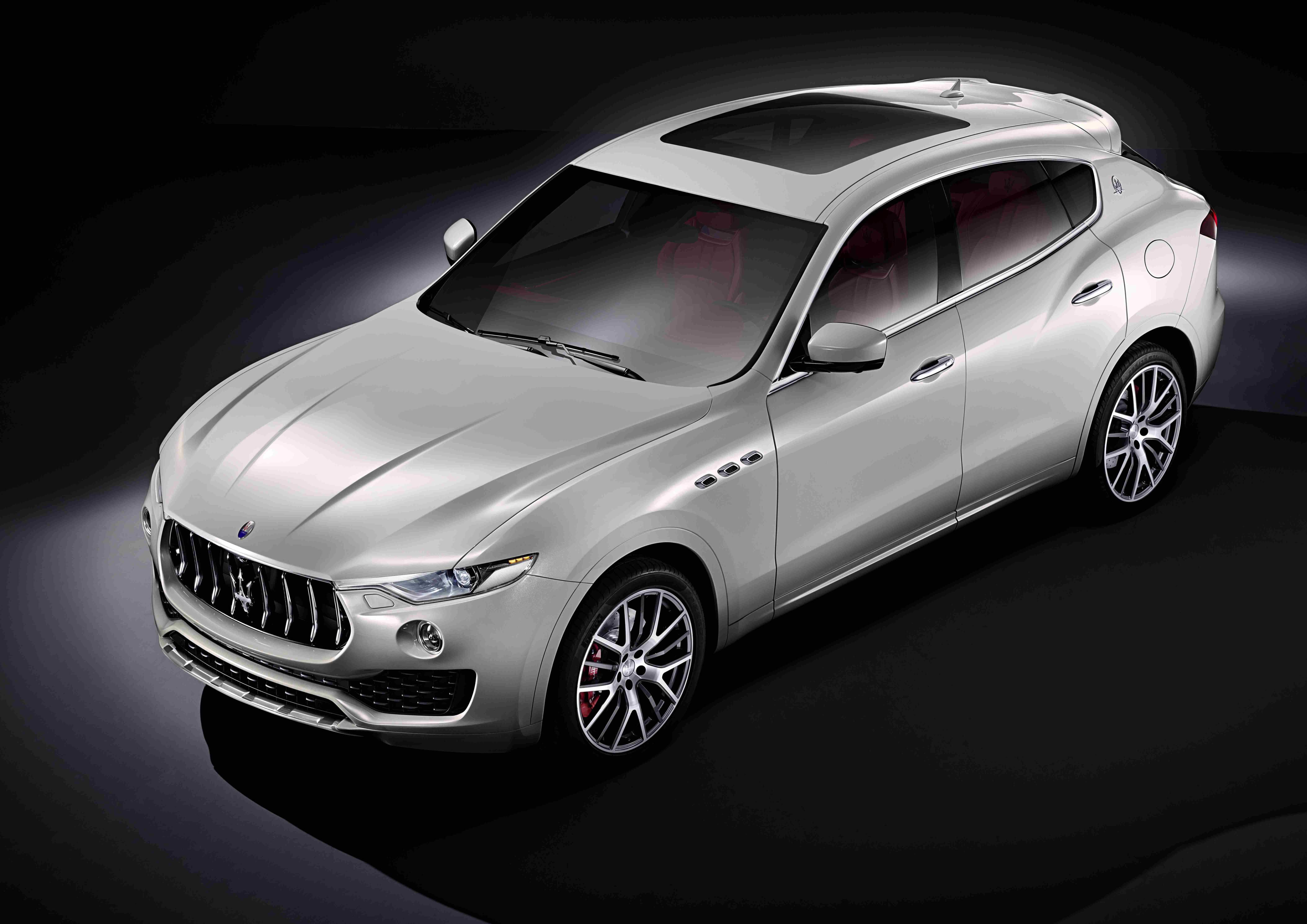 Maserati Levante: ecco il primo SUV della Casa del Tridente