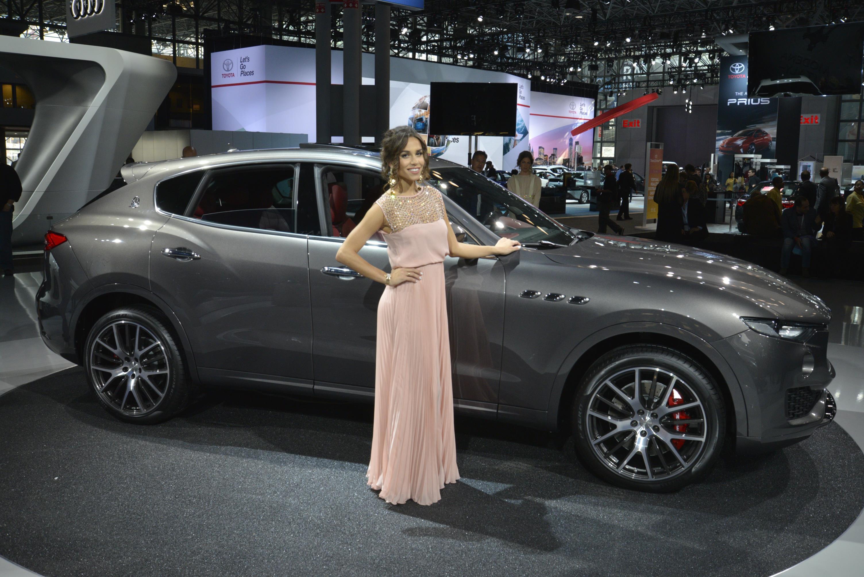 Maserati Levante al Salone di New York