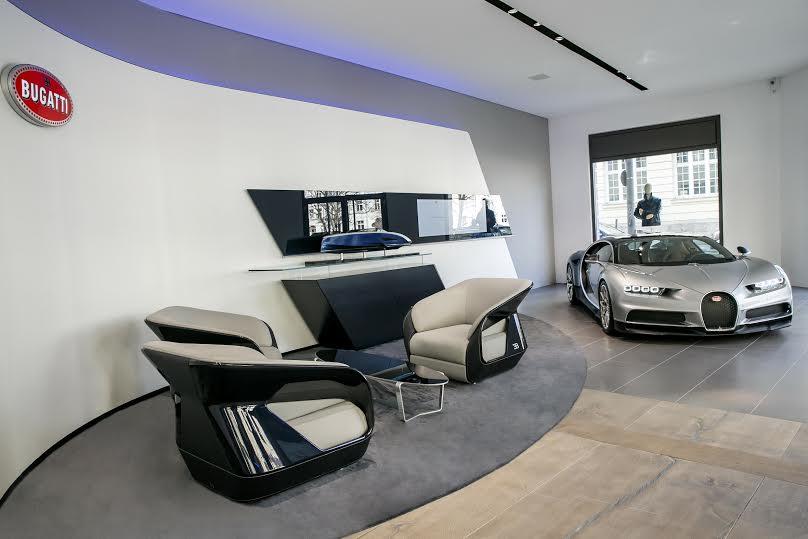 Bugatti Monaco nuovo flagship a Montecarlo