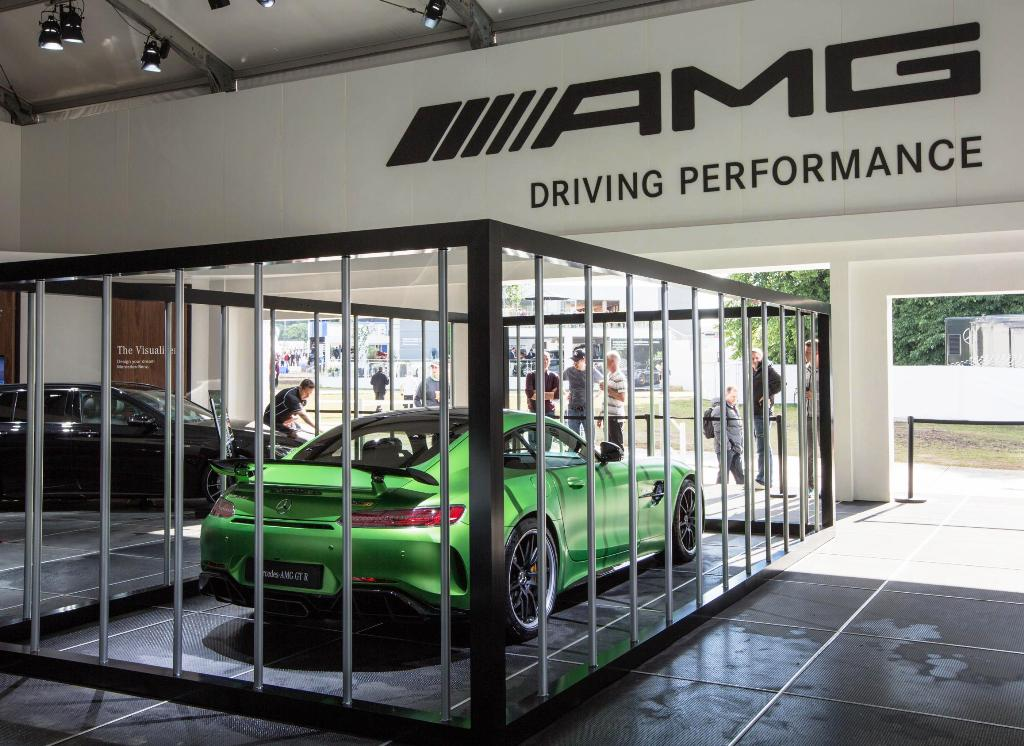 Mercedes-AMG GT R Foto dal vivo 07