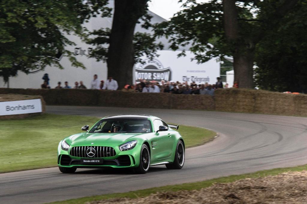 Mercedes-AMG GT R Foto dal vivo 08
