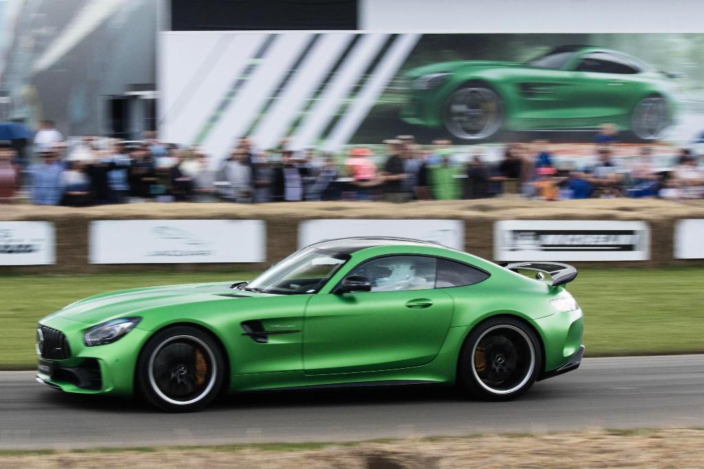 Mercedes-AMG GT R Foto dal vivo 09