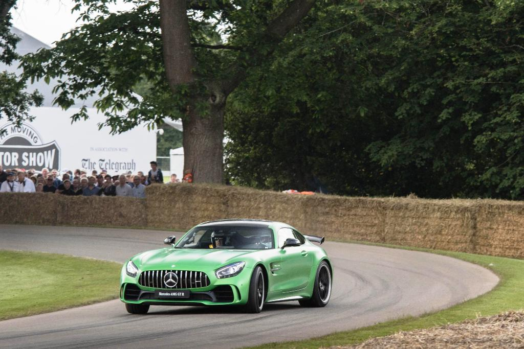 Mercedes-AMG GT R Foto dal vivo 10