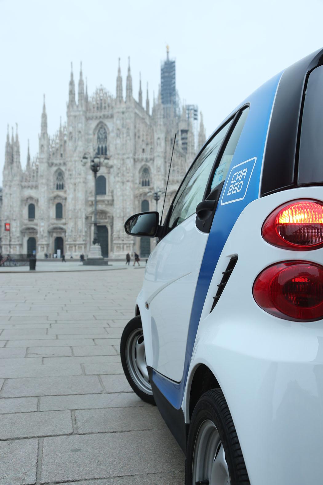 Mercedes-Benz: car2go riceve l'Italian Mission Award 2017