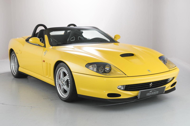 1234257_Ferrari 550 Barchetta front side