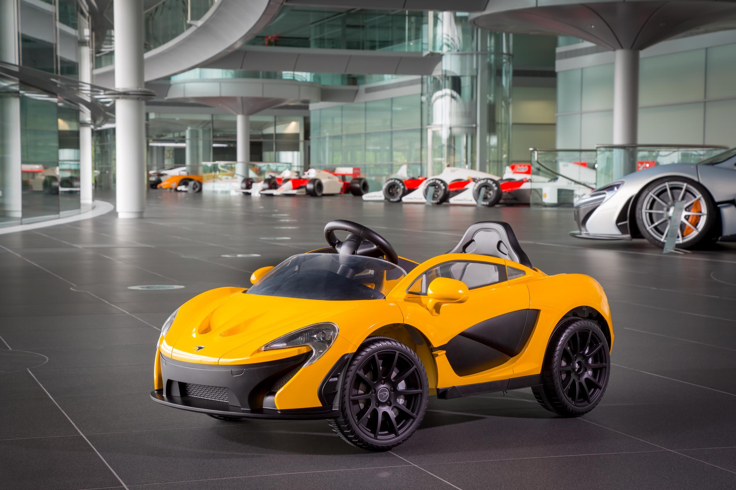 Ecco la McLaren P1 in versione elettrica!