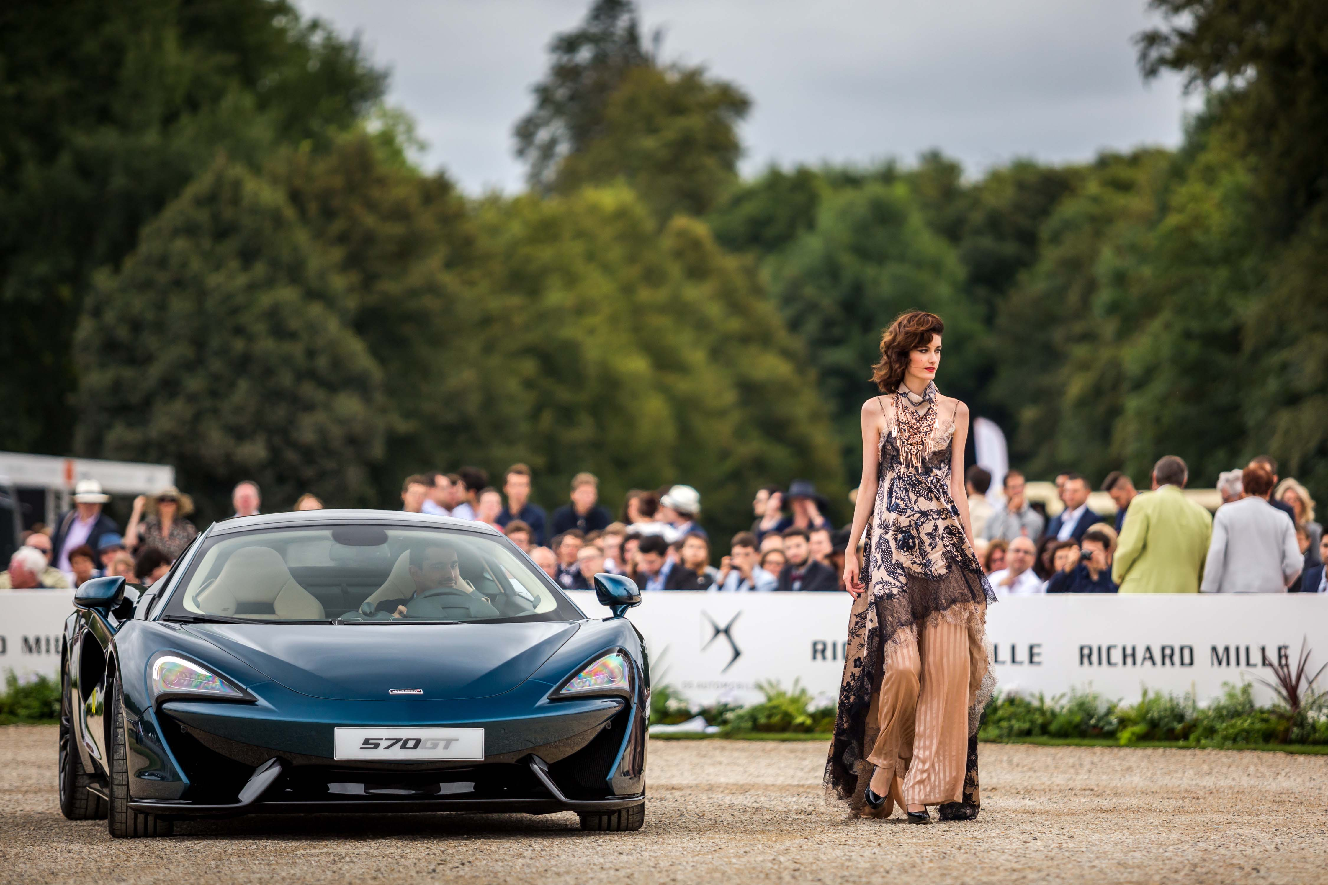Parade of concept cars during Concours Art & Elegance Richard Mille 2016 at Chantilly on September 4th 2016 - Photo Alexis Goure / DPPI