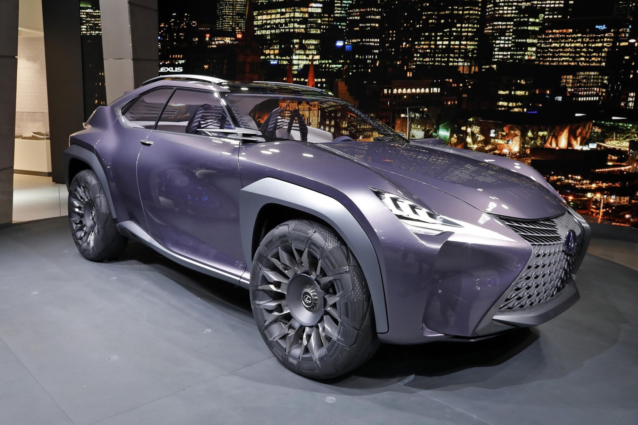Lexus UX, equipaggiata con i pneumatici concept Goodyear Urban Crossover