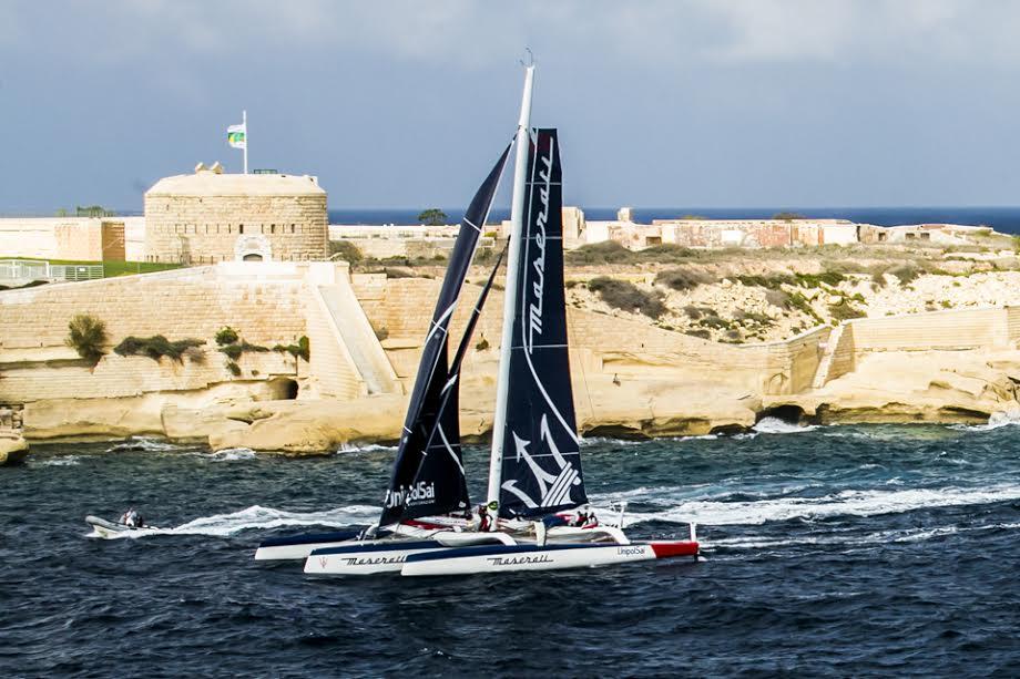 Vittoria e record nei multiscafi per Maserati Multi70 alla 37a Rolex Middle Sea Race