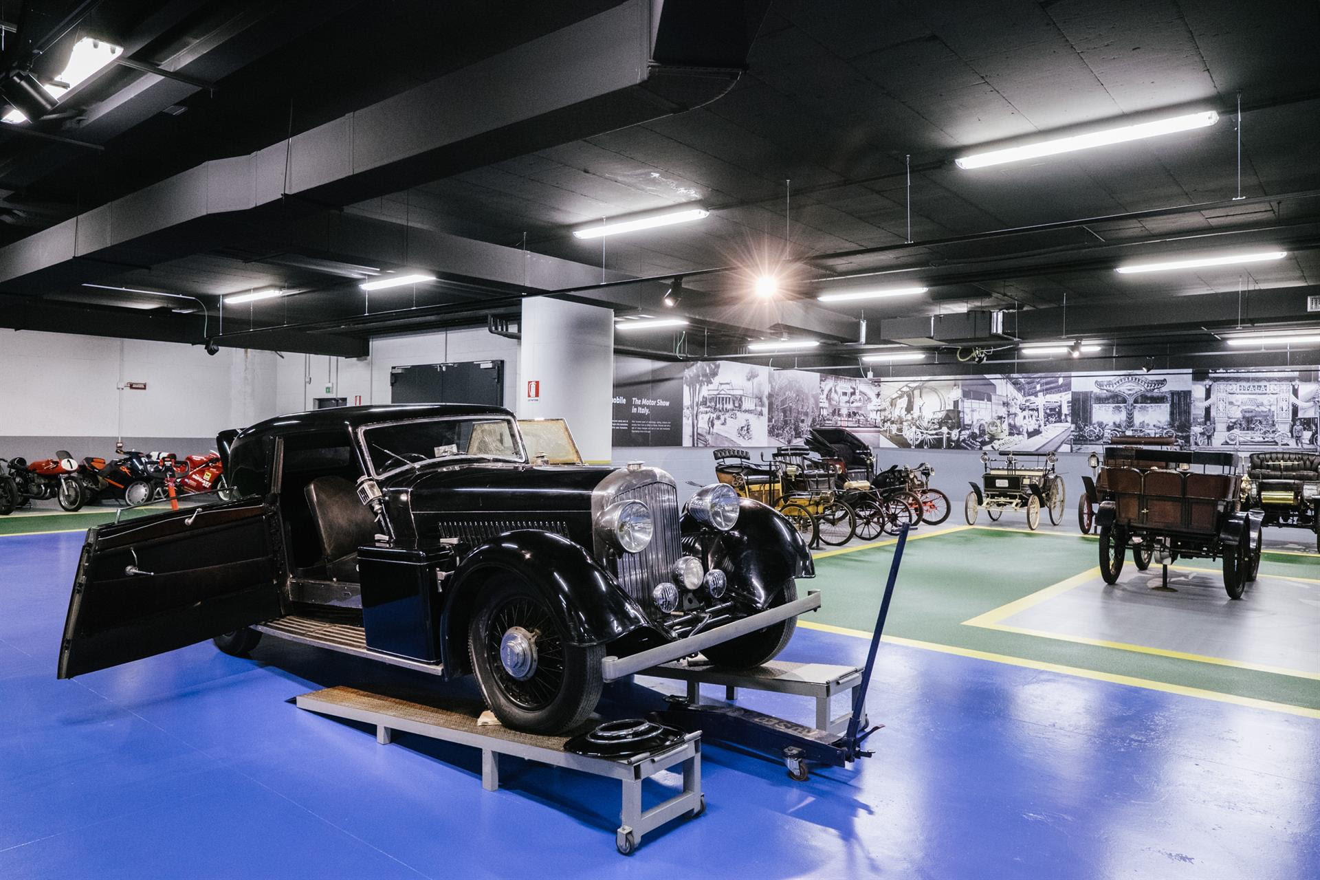 Nasce al MAUTO il Centro di Restauro, il primo polo formativo specializzato in vetture d'epoca