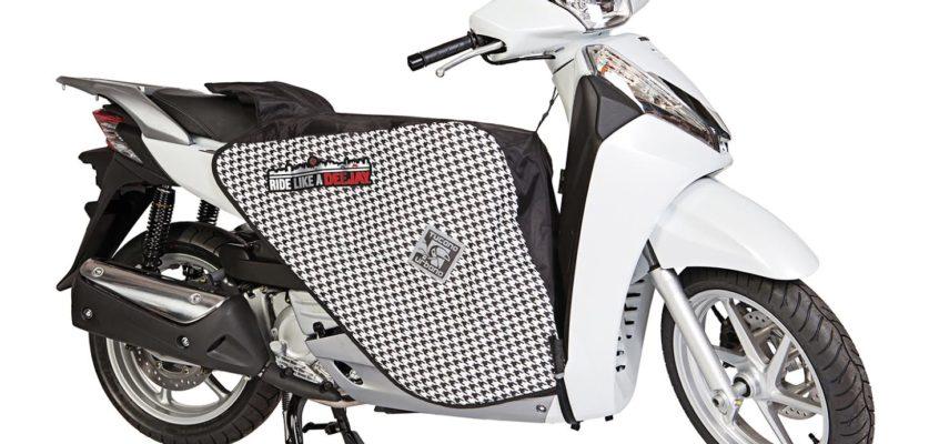 Per veri bike-addicted i coprigambe griffati DEEJAY in limited edition by Tucano Urbano
