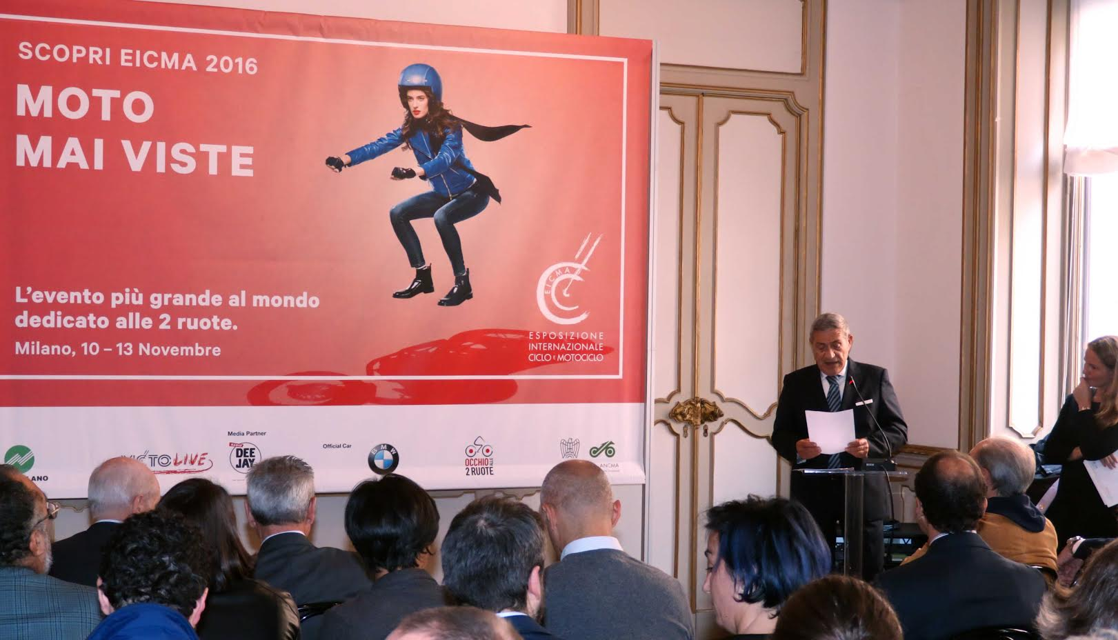 EICMA 2016: Moto mai viste, tecnologia e innovazione