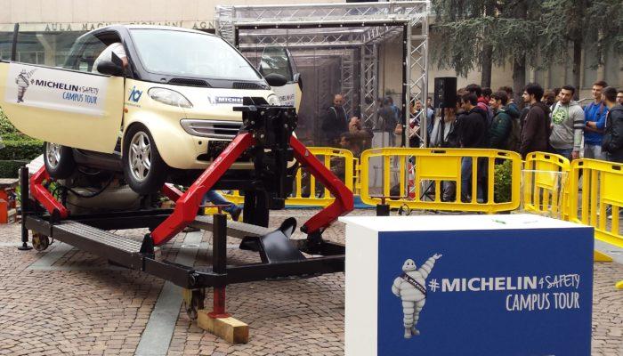 Il Villaggio Michelin per la Sicurezza Stradale nelle Università