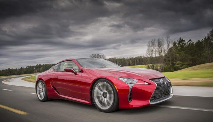 Lexus LC: nuova icona delle coupé premium 2+2