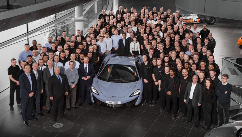 10.000 volte McLaren!