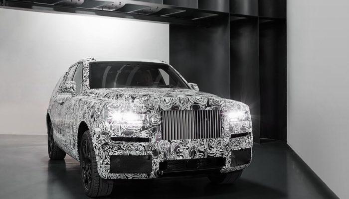 SUV Rolls-Royce: sempre più vicino il lancio