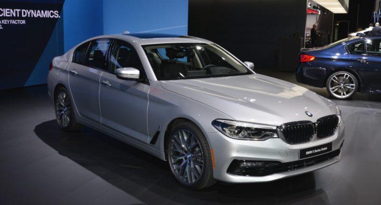 Nuova BMW Serie 5: le foto dal vivo