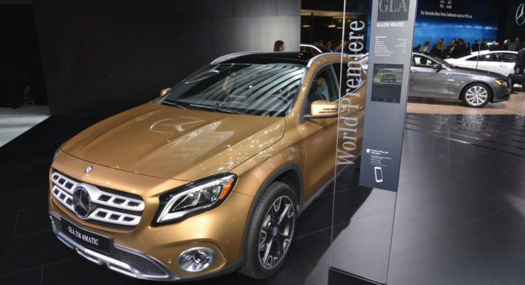 Nuovo GLA: si rinnova il SUV compatto della Stella