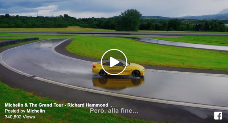 Imparare a driftare in pista: il video con Richard Hammond