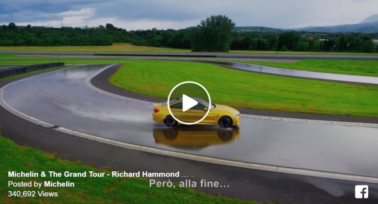 Imparare a driftare in pista: il video con Richard Hammond